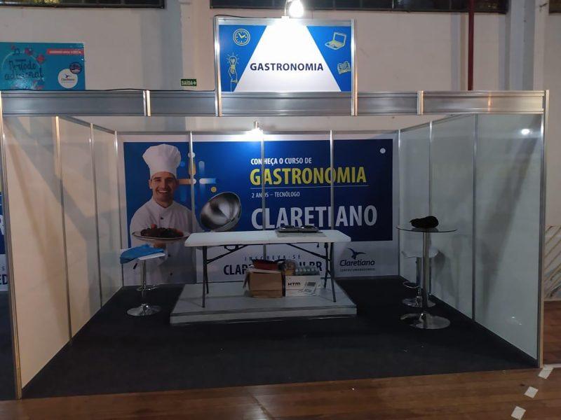 Montagem de Stand Claretiano