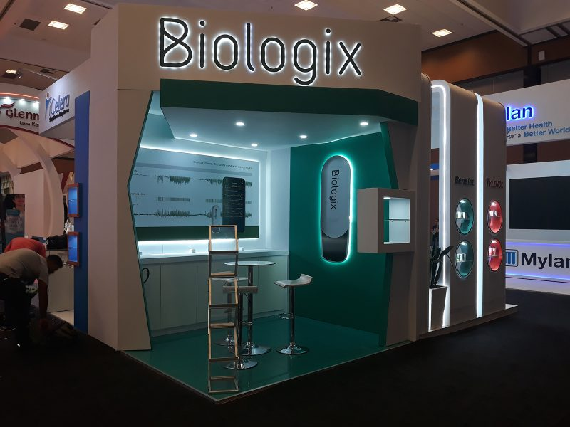 STAND BIOLOGIX - CONGRESSO BRASILEIRO DE OTORRINOLARINGOLOGIA