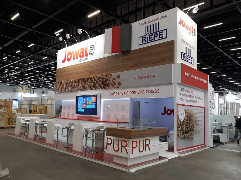 MONTAGEM STAND FRONTAL JOWAT - FOR MOBILE