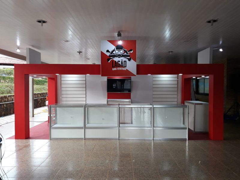 STAND LAGÃO GAS STATION - SCUBA DIVING SHOW BRASIL