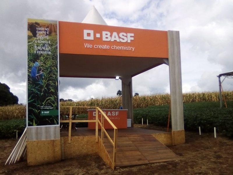 Estande BASF - Dia de Campo Olfar