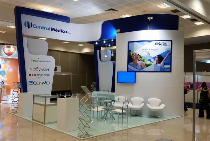 Estande Central Médica - Congresso de Ginecologia - DF
