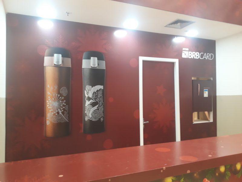 Quiosque Lateral Decoração Sala - Taguatinga Shopping