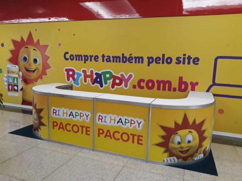 Quiosque Lateral Dia das Crianças - Ri Happy (Taguatinga Shopping)