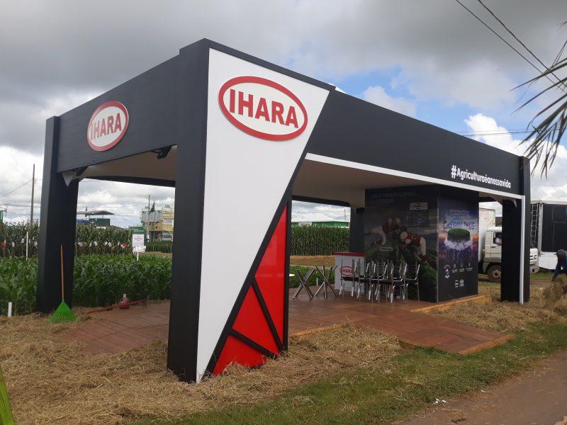 Estande Lateral IHARA - Show Safra
