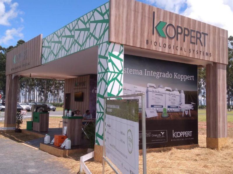 Estande Lateral Koppert - Agro Rosário - 2020