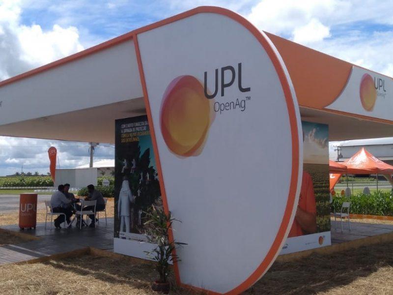 Estande UPL - Agro Rosário - 2020